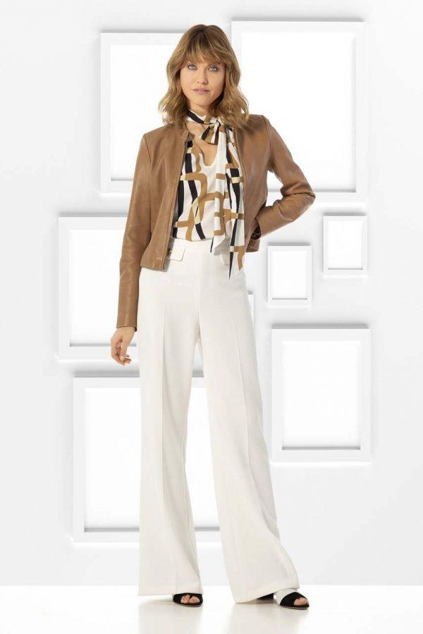 Caroline Biss Elegant loose Fitting Wide Trouser