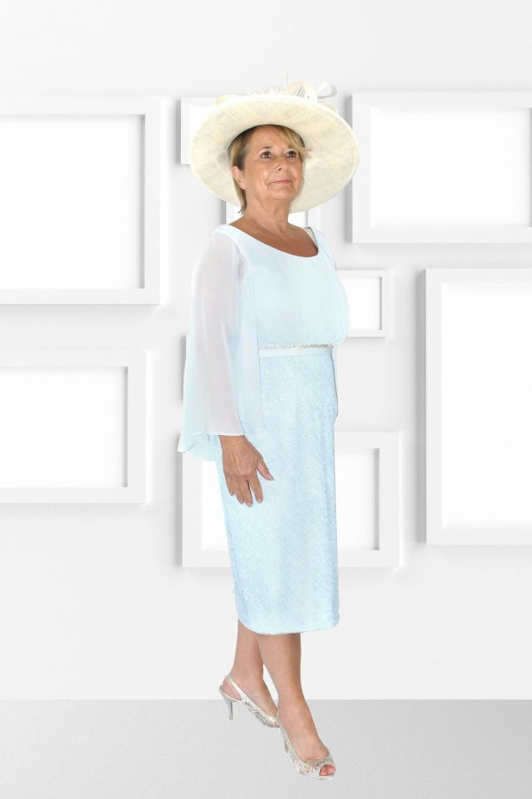 Condici Elegant Robin Egg Dress